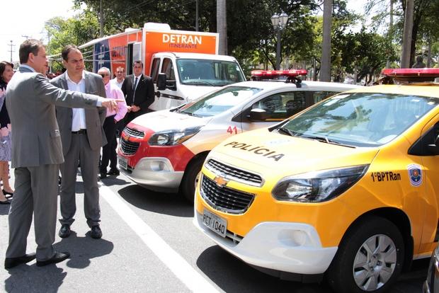 Pernambuco recebe 47 novos veículos para ações de trânsito e atendimento ao cidadão