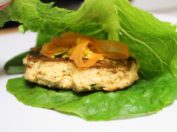 Run, do not walk to your kitchen (Spicy Buffalo chicken burgers with a lettuce wrap and buffalo ranch)