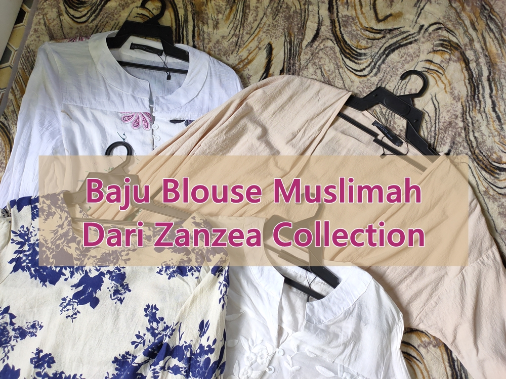 Beli Baju Blouse Muslimah Online Zanzea Collection di Shopee
