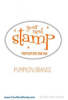 Premium Dye Ink Pad Pumpkin Orange