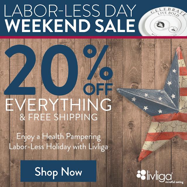 Livliga Labor Day Sale!