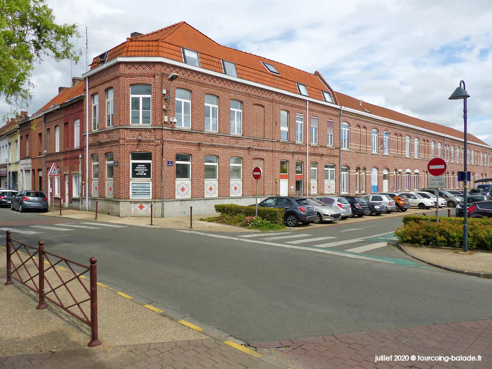 Rue de la Croix Rouge Tourcoing 2020 - Maison Médicale