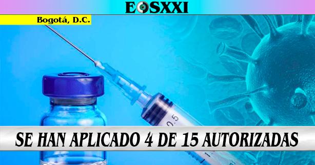 Más de 14 millones de vacunas contra el Covid-19 han llegado en octubre