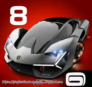 تحميل لعبة اسفلت Asphalt 8 سباق سيارات ممتعة مهكرة اخر اصدار للأندرويد