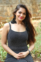 Aswini in lovely Deep Neck Sleeveless Black Dress Spicy Pics ~  Exclusive 02.JPG