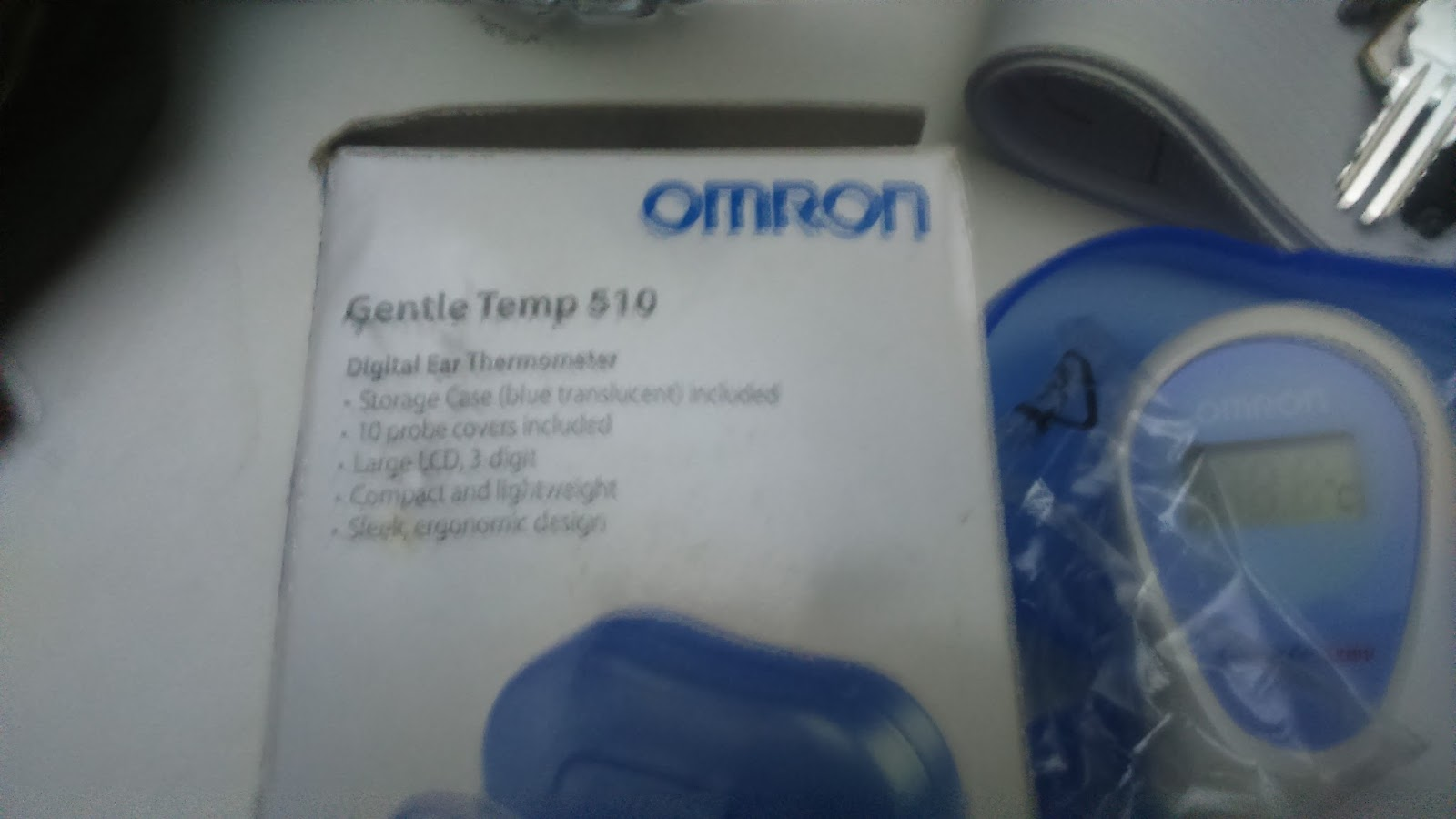 omron gentle temp 510 manual
