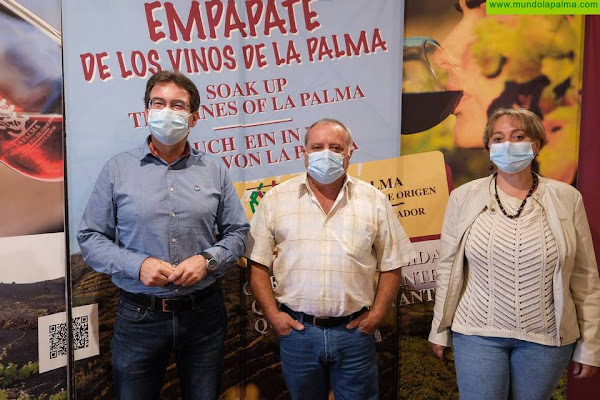 El Cabildo y el Consejo Regulador Vinos La Palma avanzan en mejoras para el sector vitivinícola
