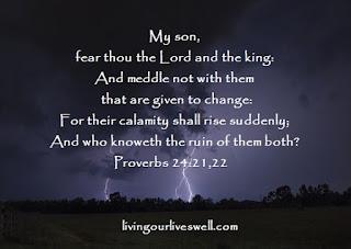 Proverbs 24:21,22