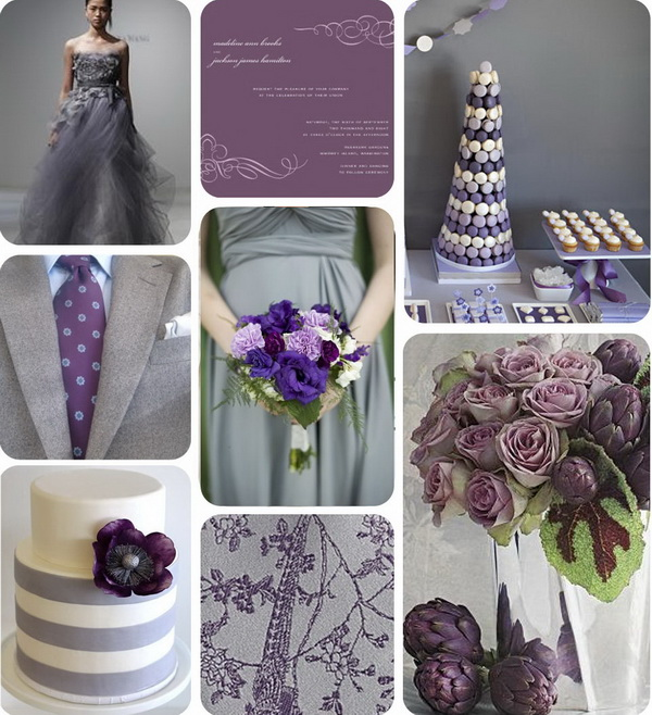 Runway Fashions About Weddings: What About A Grey Tone For
