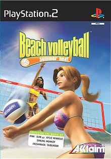Download Summer Heat Beach Volleyball PS2 ISO