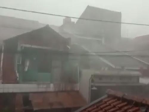 Hujan Bandung Januari 2020
