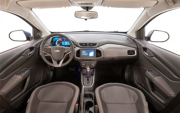 Chevrolet Prisma 2015 fotos interior