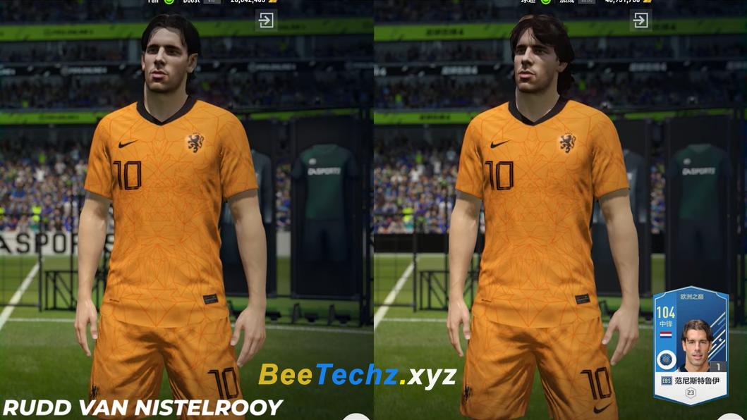 FIFA ONLINE 4 | Ngắm nhìn hình ảnh thay đổi Face ingame cầu thủ tại mùa thẻ EBS - European Best Stars