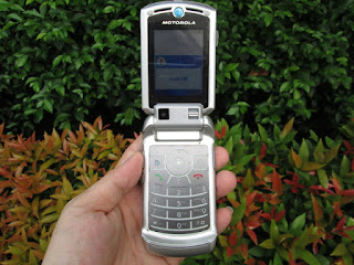 Hape Jadul Motorola RAZR V3x Seken Mulus Kolektor Item