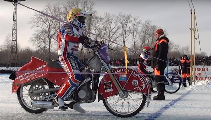 Orosz Superliga jégmotor bajnokság 1.forduló Videó
