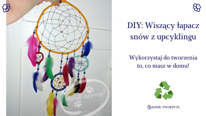 DIY: Łapacz snów z upcyklingu