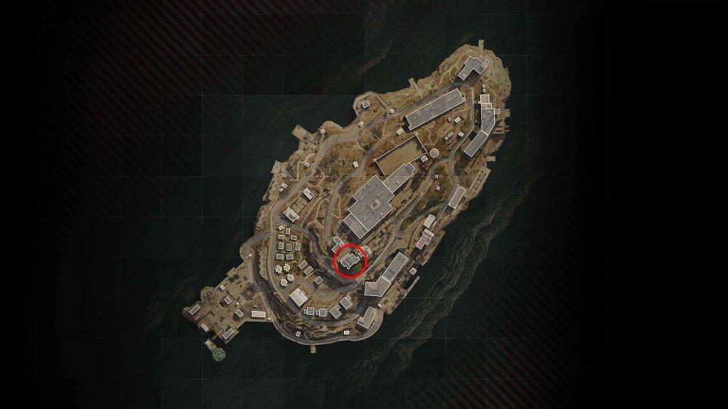 Step 3 - Enter the secret room on Rebirth Island