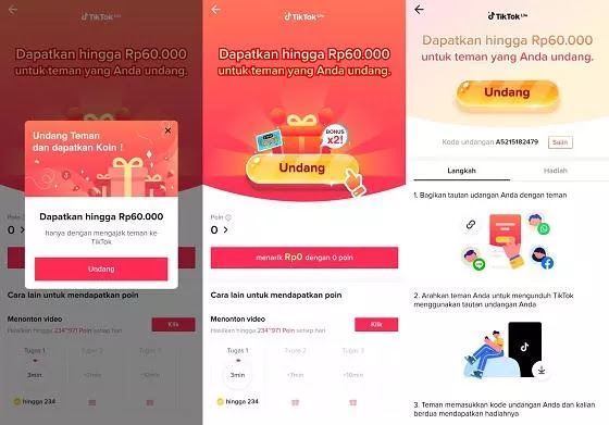 Here's a guide to seeing the TikTok Lite referral code