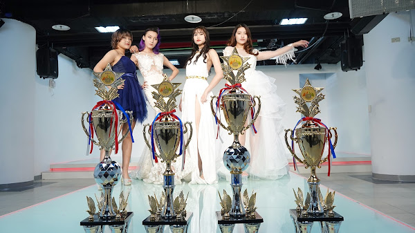 建國科大出第一名模 髮型美容美甲國際賽囊括前四名