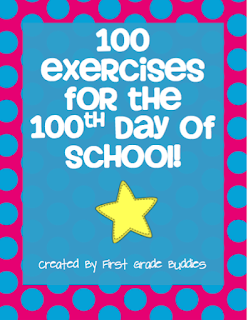 https://www.teacherspayteachers.com/Product/100-Exercises-for-the-100th-Day-of-School-497977