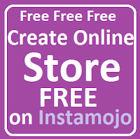 create online store on instamojo free of cost