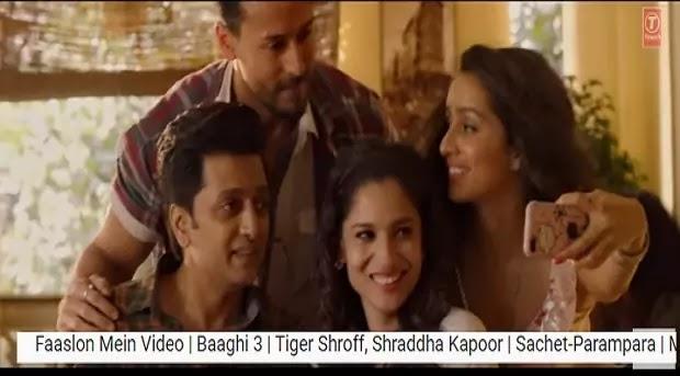 बाग़ी 3 - फासलों में बंट सके Faaslon Mein Bat Sake Na Lyrics in hindi-Sachet Tandon