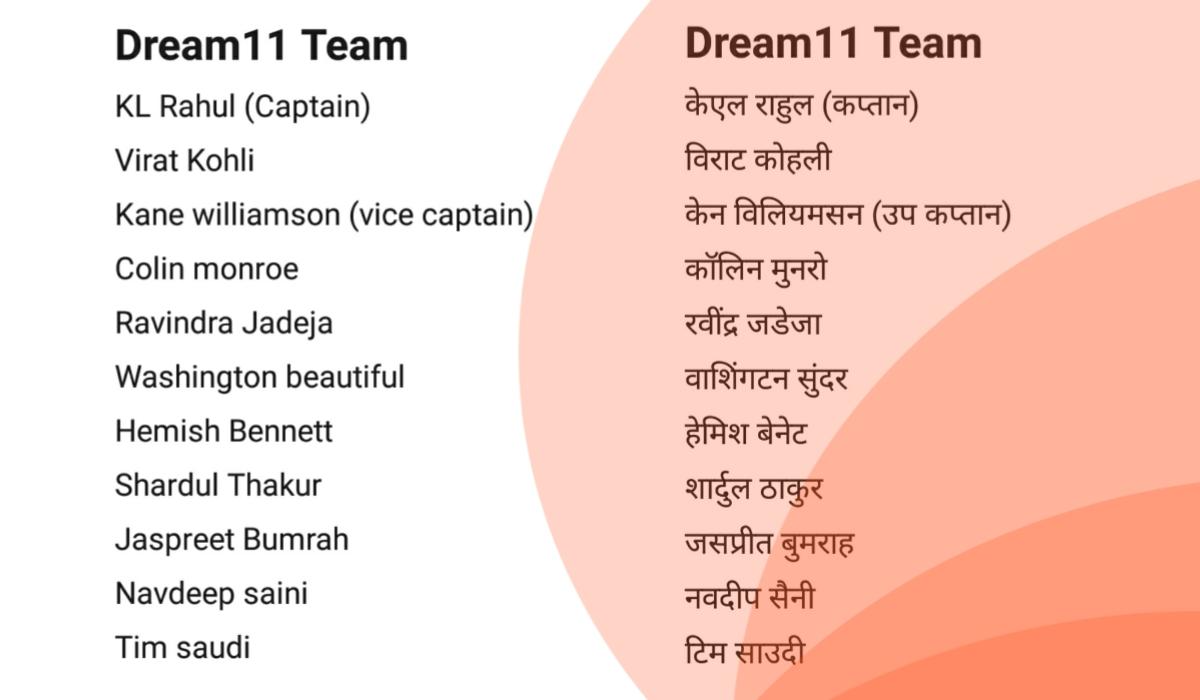 India vs New Zealand 5th T20 Dream11 team predictions
