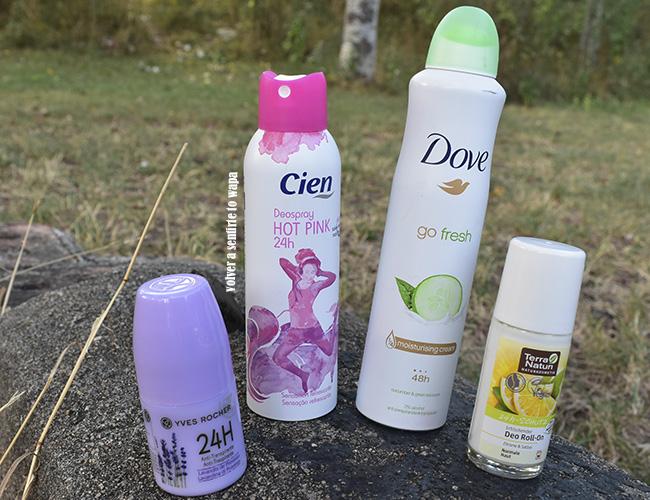 Desodorantes que funcionan en verano