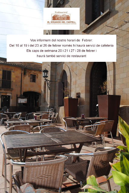 horario febrero restaurante