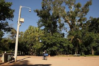 Sistema de cercamento eletrônico da Redenção é apresentado pela prefeitura de Porto Alegre (RS)