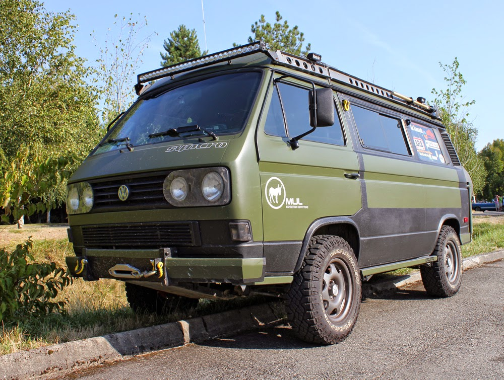 Mule Expedition Outfitter's Volkswagen Syncro van
