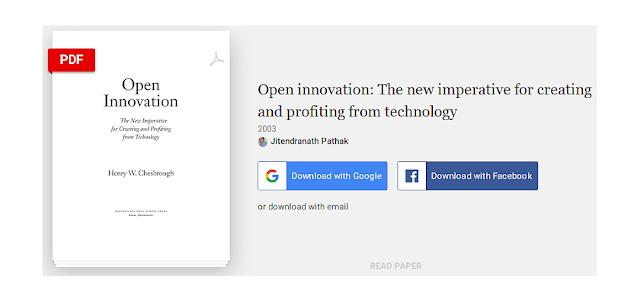 Henry Chesbrough: Cách tân Mở - Sự cấp bách mới để Tạo ra và Hưởng lợi từ Công nghệ'
