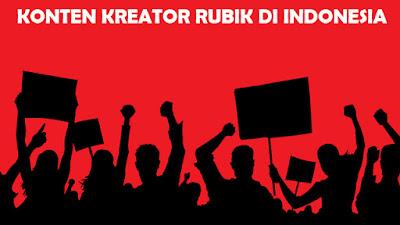 Ini dia sederetan rekomendasi Konten Kreator Rubik di Indonesia yang wajib kalian subscribe