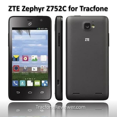 TracfoneReviewer: ZTE Zephyr Z752C Android Tracfone Review