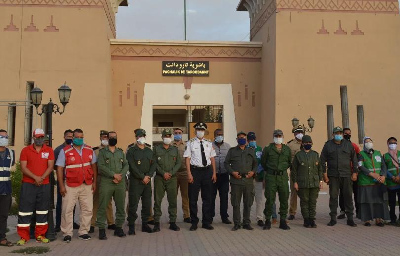 السلطات بتارودانت تقود بنجاح حملة توعوية وتحسيسية في أجواء الإستعدادات لعيد الاضحى المبارك/ صور