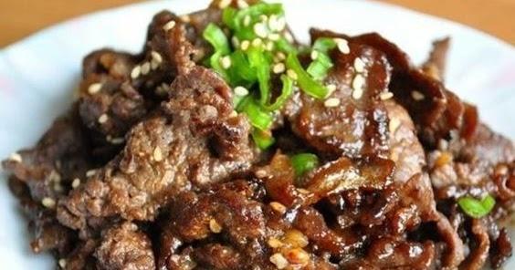 Bulgogi - Authentic Korean Beef BBQ Recipe - Recipes Note