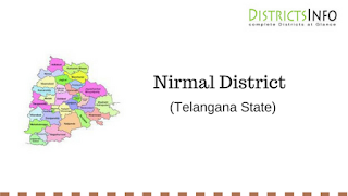 Nirmal District with Mandals