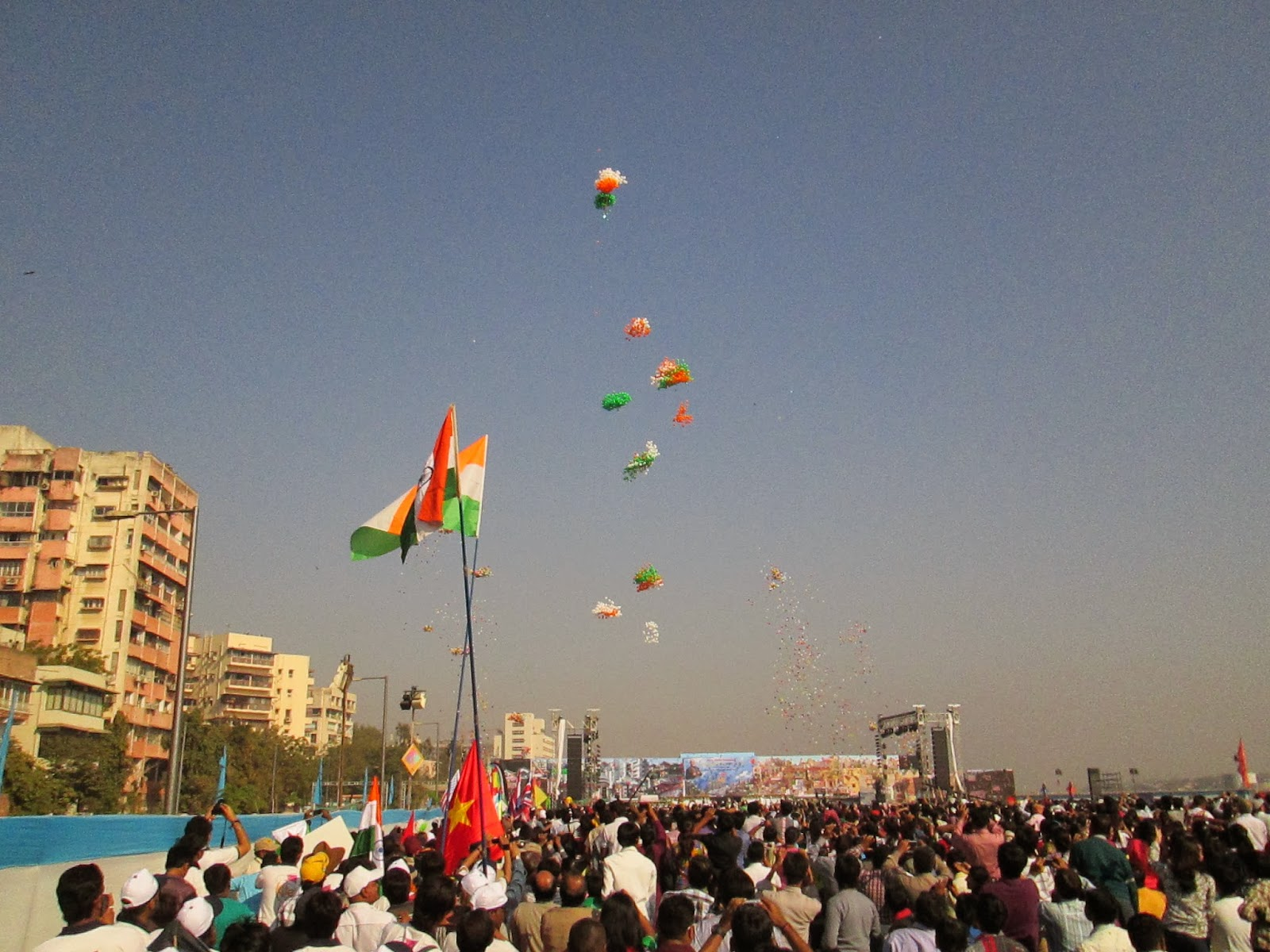 international kite festival 2014 - ahmedabad - gujarat