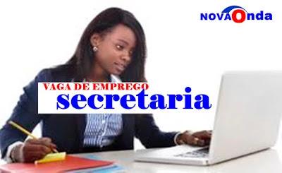 VAGA DE EMPREGO DE SECRETARIA MAPUTO