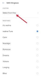 Realme Phone Me Ringtone Kaise Lagaye