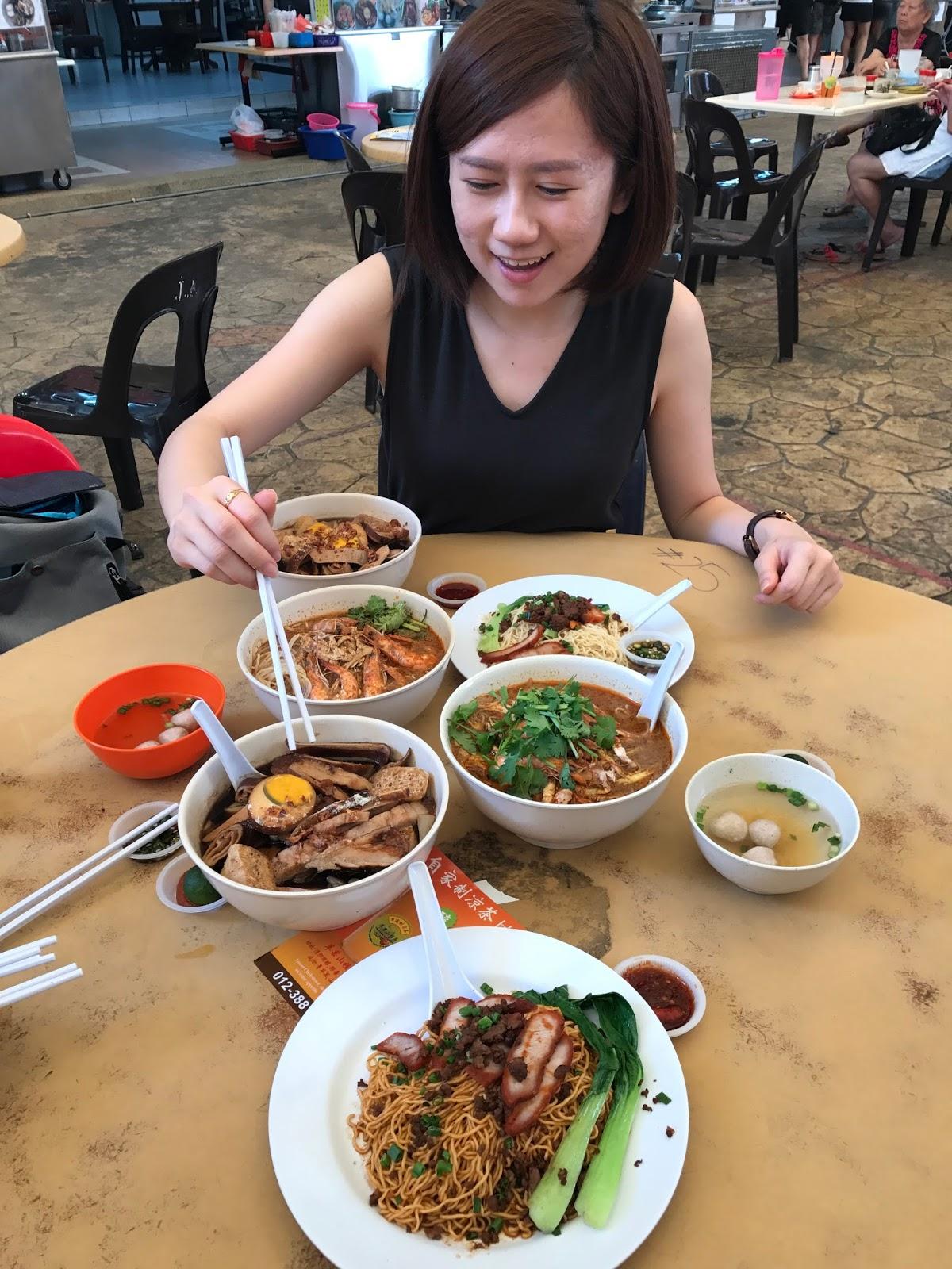 [Food Review] Sarawak Laksa, Kolo Mee, Kueh Chap by Auntie Lan Sarawak Deli @ NZX Food Court, Ara Damansara