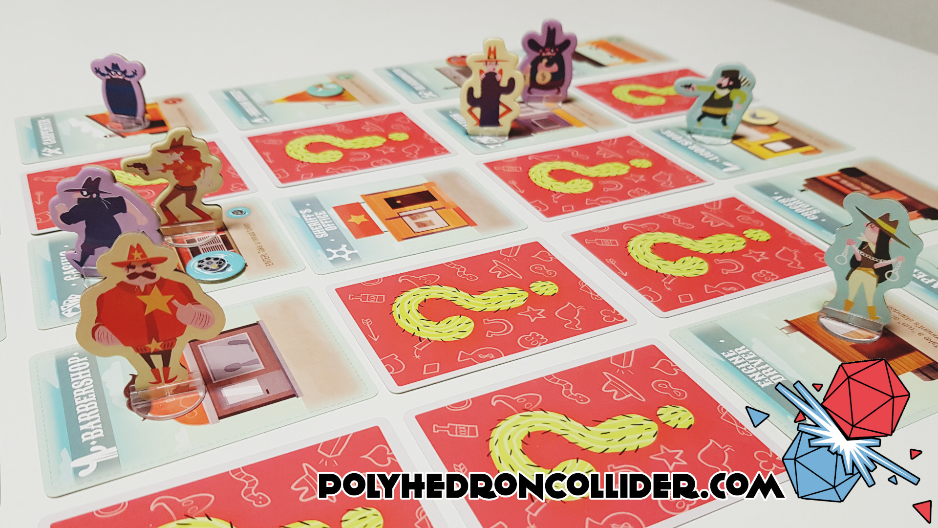 Polyhedron Collider Cactus Town Review - In Play