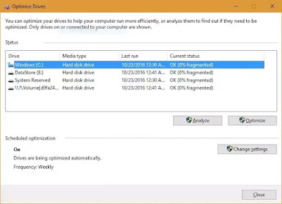 speed up your PC, Defragment