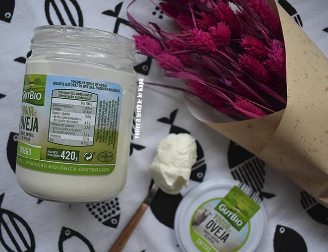 Recetas con Yogur de Oveja de producción biológica Gutbio de Aldi