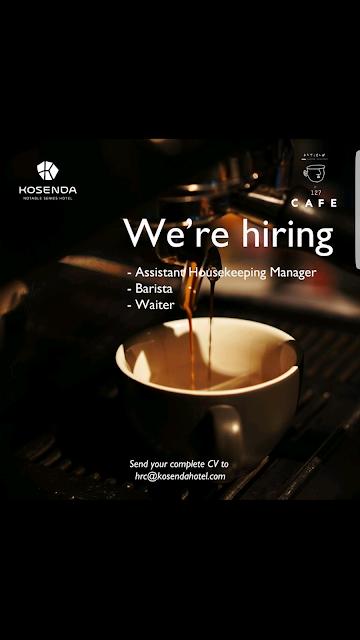human resources, barista