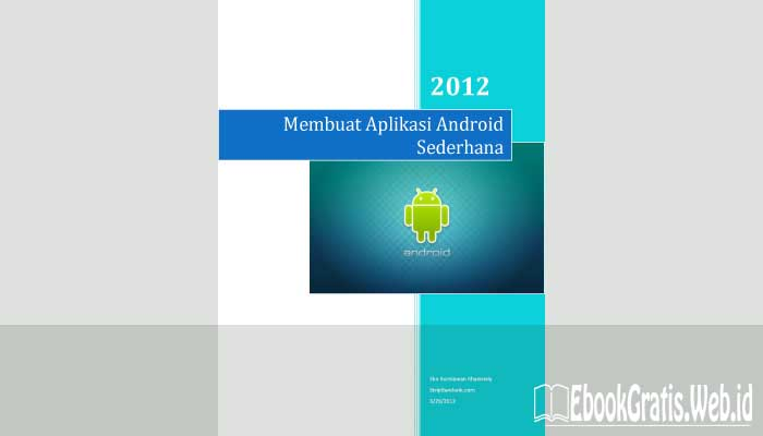 Ebook Membuat Aplikasi Android Sederhana