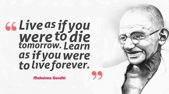 famous slogans on Mahatma Gandhi in english