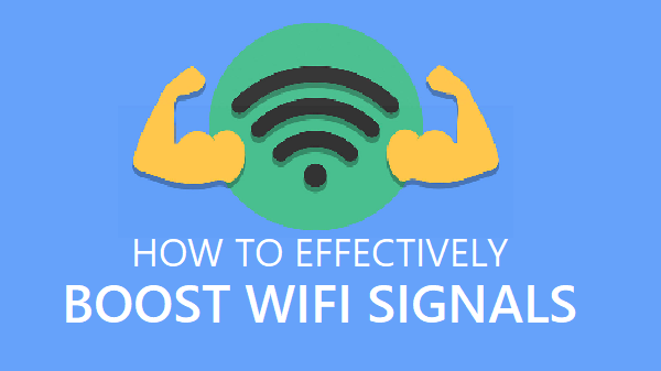 Increase Range of WiFi Signals