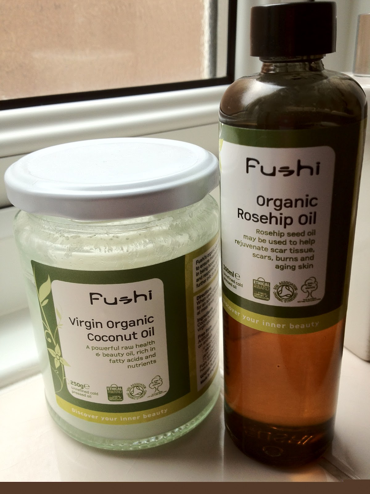 Confessions of a Beauty No-Hoper: Fushi – Rosehip Oil and