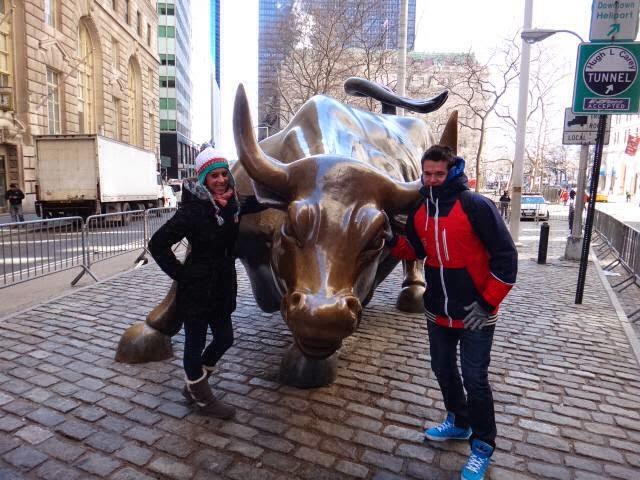famoso toro de wall street de Nueva York